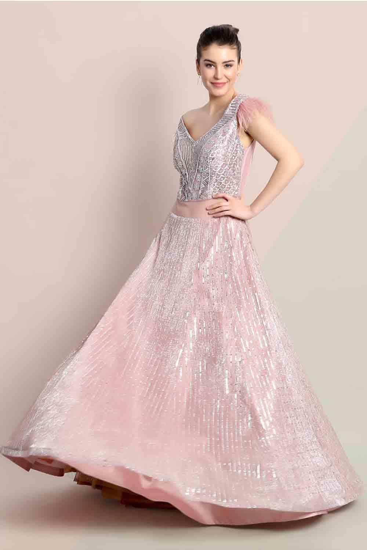 stylish sangeet gown